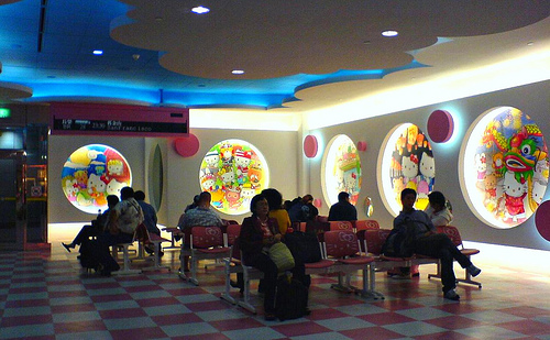 Hello Kitty Airport Lounge