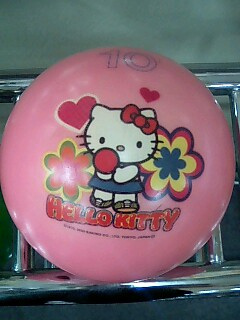 hello kitty bowling ball 3