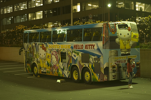 Hello Kitty Bus 3