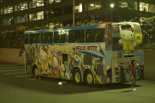 Hello Kitty Bus 3