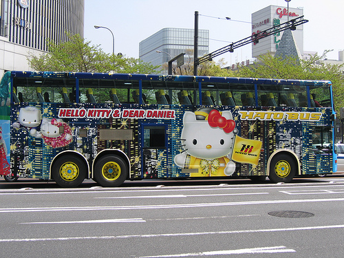 Hello Kitty Bus 4