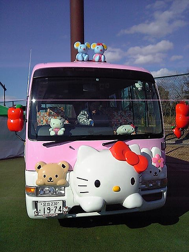 Hello Kitty Bus 5