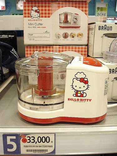 hello kitty food processor