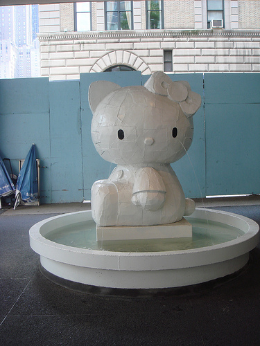 Hello Kitty Fountain at Lever House