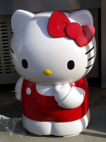 Hello Kitty Fridge Closed