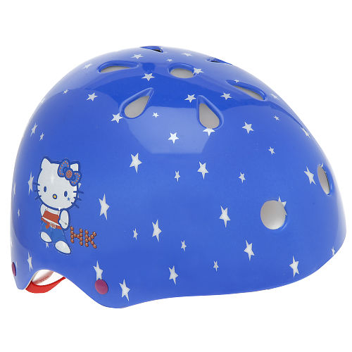 hello kitty helmet for a child