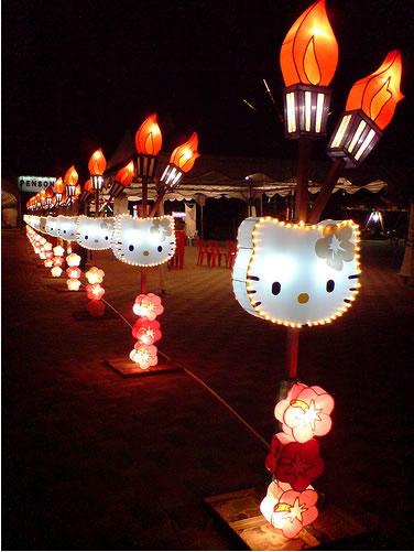 hello kitty lantern festival 1