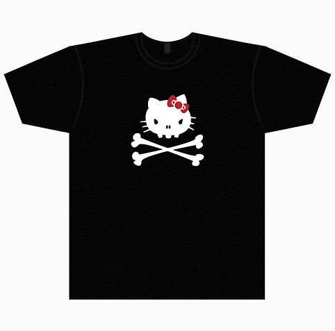 hello kitty pirate t-shirt