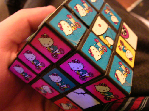 Hello Kitty Rubik's Cube