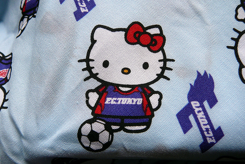 hello kitty soccer player