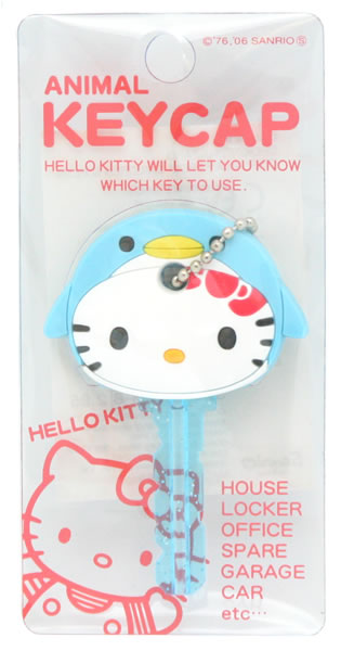 hello kitty penguin animal key cap