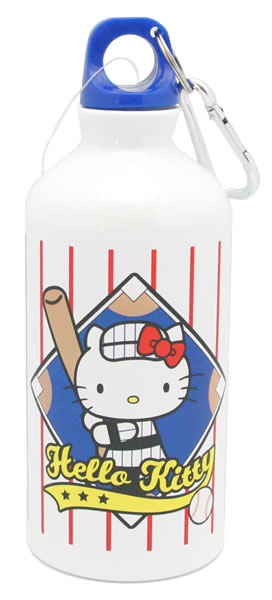 hello kitty baseball biker bottle