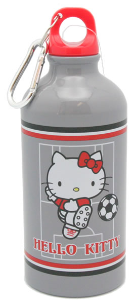 hello kitty baseball water bottle