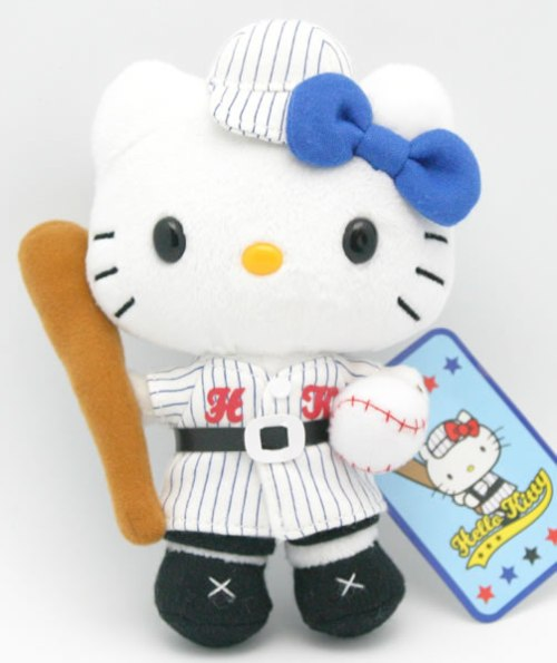 hello kitty baseball doll