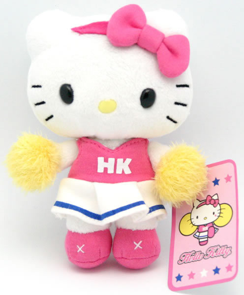 hello kitty cheerleader doll