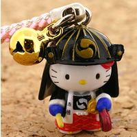 hello kitty cell phone strap, Sanrio Gotouchi Hello Kitty Japan Area Limited Samurai from Sengakuji ($5.25)