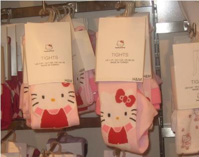 hello kitty at h&m - tights