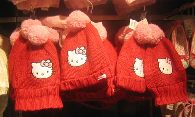 hello kitty at h&m - winter hats