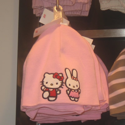 hello kitty at h&m - winter hat