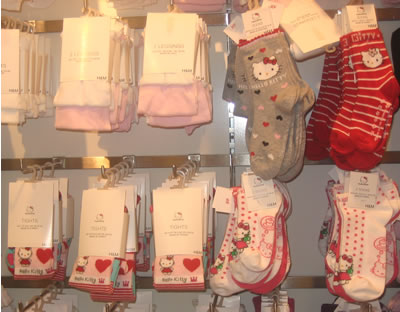 hello kitty at h&m - socks