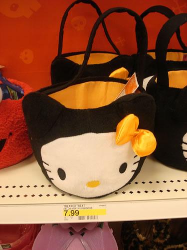 hello kitty halloween bag