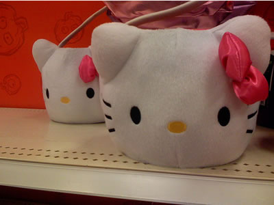 hello kitty halloween face bag