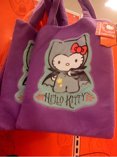 hello kitty halloween vampire bag