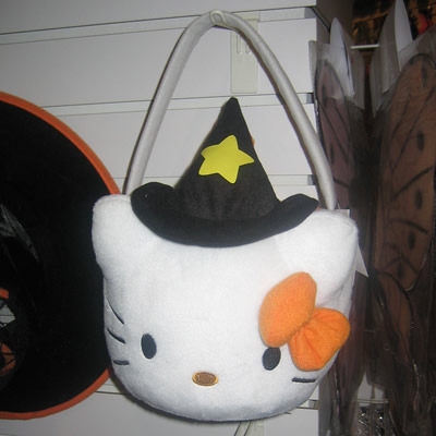 hello kitty witch halloween bag