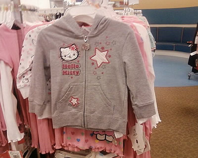 hello kitty hoodie at macy's