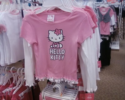 hello kitty shirt at macy's