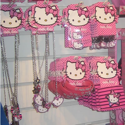 hello kitty punky accessories