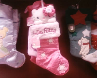hello kitty christmas stocking at target