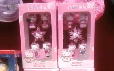 hello kitty christmas ornaments at target