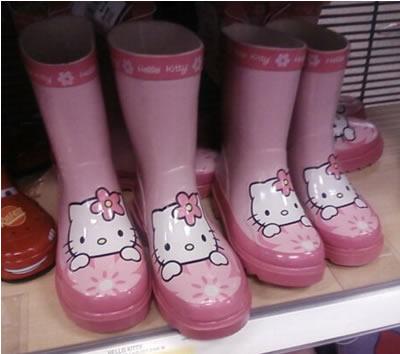 hello kitty rain boots from target