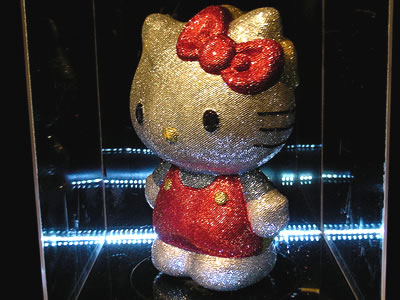 hello kitty sparkling figure
