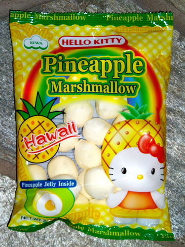 hello kitty marshmallows pineapple