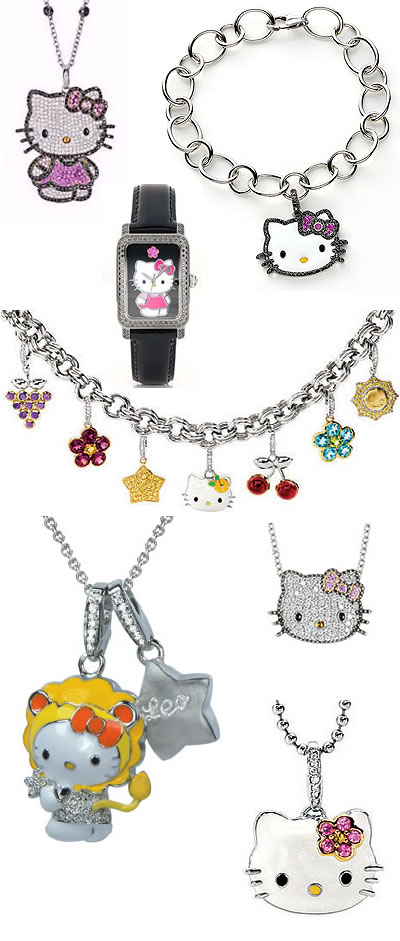 Hello Kitty Jewelry Kimora Grimace Arquebusier