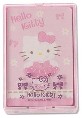 hello kitty ballet cards