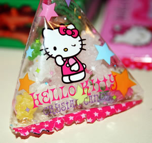 hello kitty crystal candy