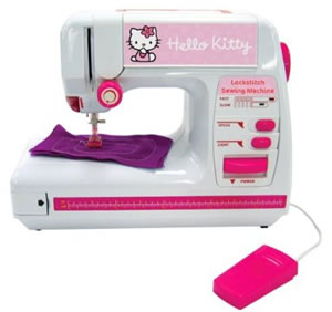 hello kitty lockstitch sewing machine