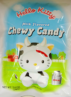 hello kitty milk candy
