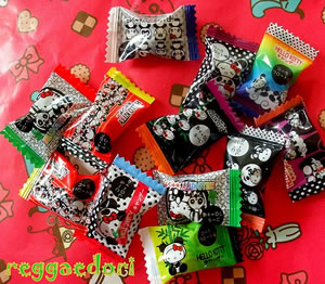 hello kitty panda candy