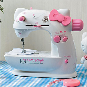 hello kitty sewing machine pinl