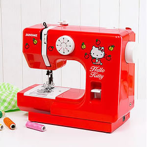 hello kitty sewing machine red