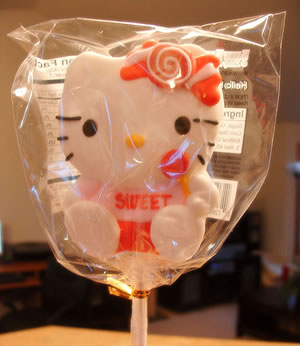 hello kitty sweet lollipop