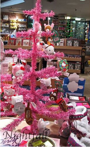 hello kitty urban outfitters christmas tree
