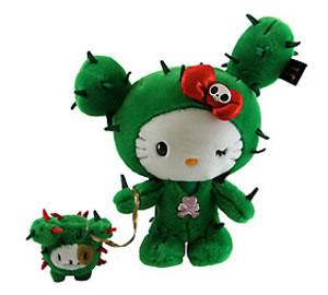 tokidoki for hello kitty cactus plush