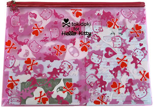 tokidoki for hello kitty pink letter set