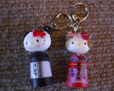 hello kitty capsule toys