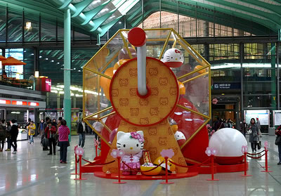 hello kitty chinese display 1